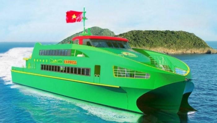 du lịch cần thơ:Tàu cao tốc Mai Linh Express phục vụ hành khách đi lại trên tuyến Cần Thơ - Côn Đảo
