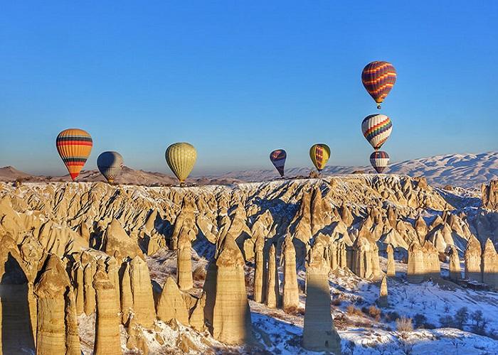 du lịch Thổ Nhĩ Kỳ tháng 7