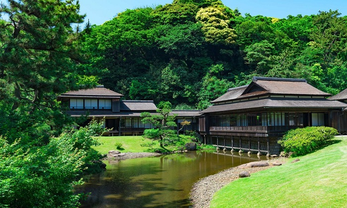 Khu vườn Sankeien điểm đến trong chuyến khám phá Yokohama