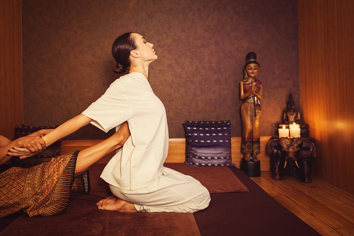How has Thai massage covered the whole world?