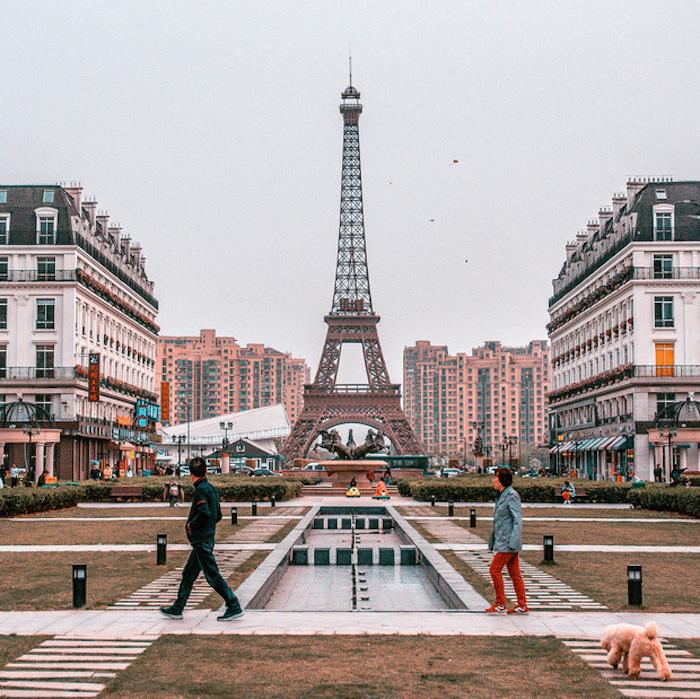Ngắm loạt thành phố châu Âu thu nhỏ ở Trung Quốc