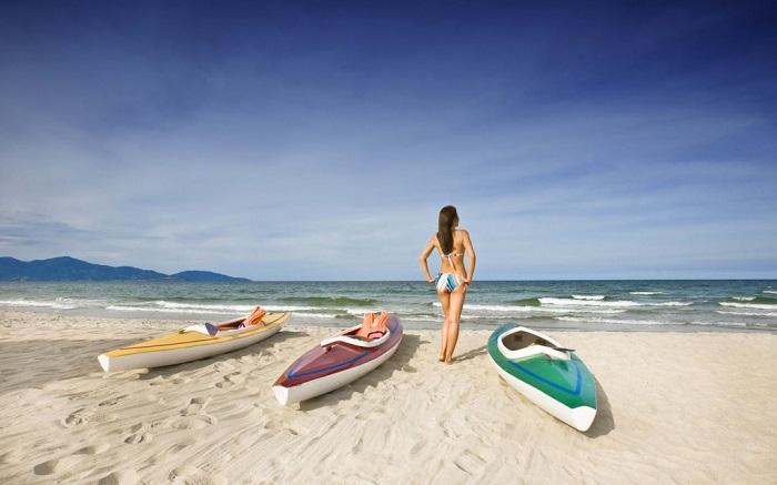 Đến bãi biển Xuân Thiều Đà Nẵng: Ngắm hoàng hôn nơi 'biển đỏ' của Việt Nam