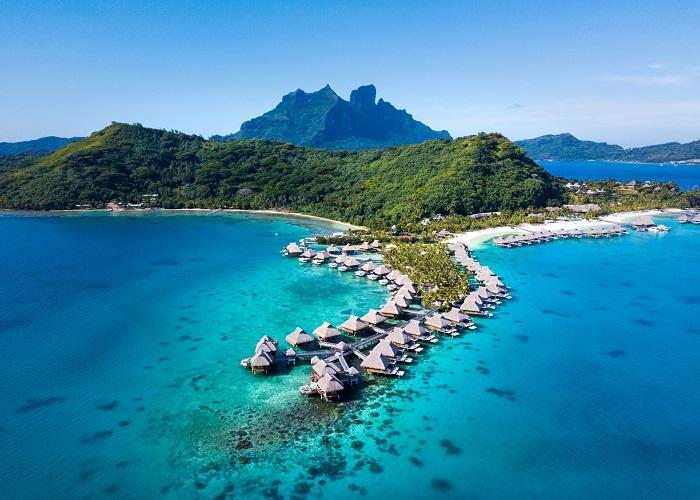 Sống giữa trời và biển ở những khu nghỉ dưỡng trên mặt nước đẹp nhất thế giới