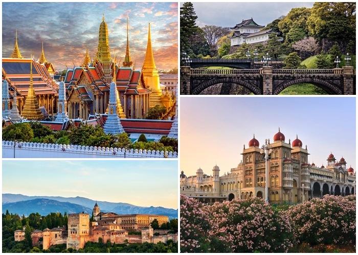 Top 7 cung điện hoàng gia sẽ đưa ban về với giấc mơ cổ tích