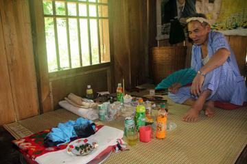 Kỳ lạ tục lệ xin thêm vận may của người Thái ở Nghệ An