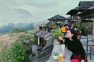 Cực phẩm Sapa - tắm thuốc lá người Dao tại Lá Dao Spa & Coffee