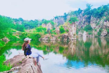 Khu du lịch Núi Sập Hạ Long thu nhỏ tại An Giang