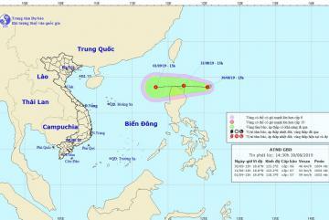 Bão số 4 vừa tan, biển Đông chuẩn bị đón Áp thấp nhiệt đới mới