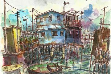 Tai O - lặng lẽ làng chài xứ Cảng Thơm