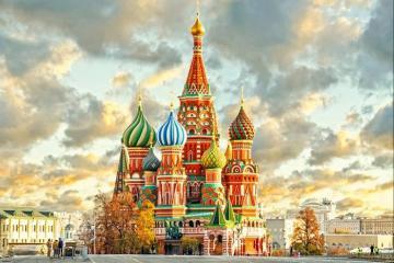 Du lịch nước Nga khám phá những điạ điểm nổi tiếng nhất