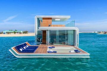 """Trải nghiệm """"ngủ dưới nước"""" tại biệt thự xa hoa hơn 70 tỷ ở Dubai"""