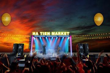 Sắp khai trương chợ đêm ở Hà Tiên