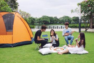 Những điểm cắm trại lý tưởng cho giới trẻ thành Vinh