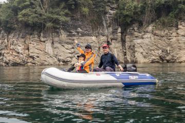 Phượt Sông Lam bằng xuồng phao, bạn muốn thử không nào?