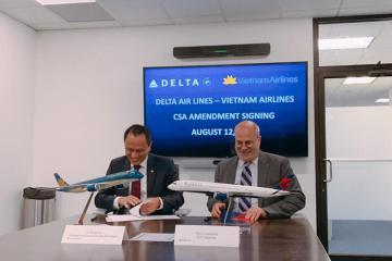 Vietnam Airlines liên danh Delta Airlines, chuẩn bị cho đường bay sang Mỹ