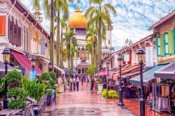 Dạo chơi 5 khu phố tại Singapore nhỏ bé nhưng đầy sôi động
