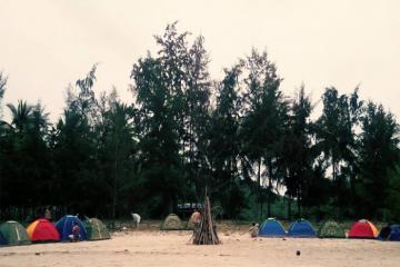 Làng Vân – địa điểm cắm trại cuối tuần lý tưởng