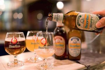 Đến Viêng Chăn, hãy uống bia Lào!