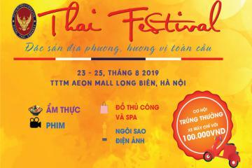 Sắp diễn ra Lễ hội Thái Lan 2019 tại Hà Nội