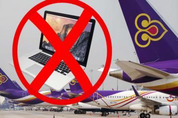Macbook Pro 15 inch và các thiết bị điện tử cấm mang lên máy bay