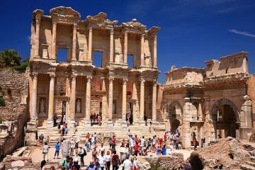 Khám phá Ephesus - thành phố cổ hút khách ở Thổ Nhĩ Kỳ