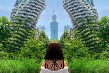 Xuất hiện 'tòa nhà xoắn quẩy' soán ngôi mọi điểm check in tại Đài Bắc