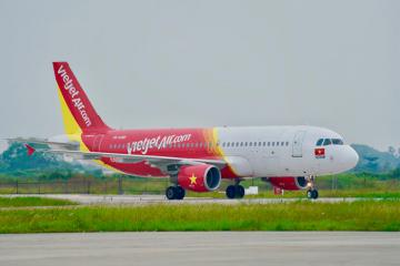 Hàng triệu vé bay Tết giá từ 2.020 đồng từ Vietjet Air