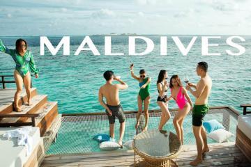 Chuyến du ngoạn nửa tỉ tới thiên đường hạ giới Maldives cùng Vũ Khắc Tiệp