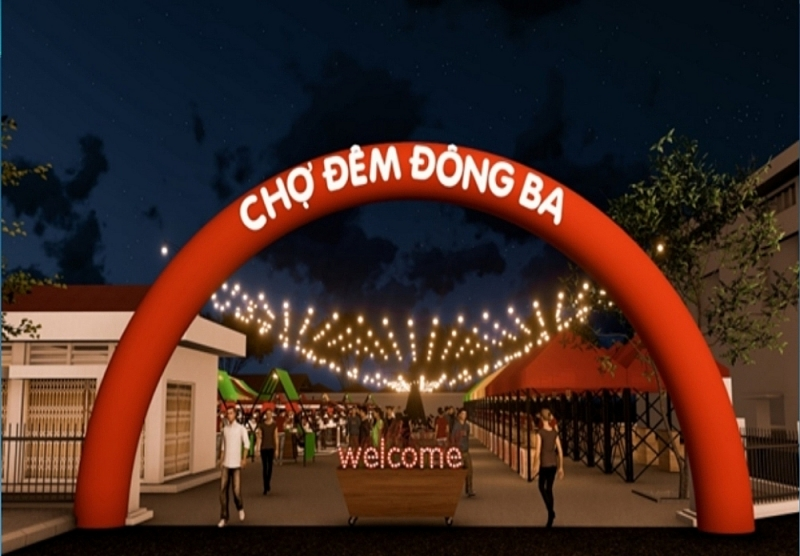 Huế sắp có chợ đêm Đông Ba thu hút khách du lịch
