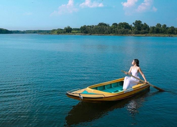 Binh Phuoc has a fresh, natural scene.Photo: tadivui