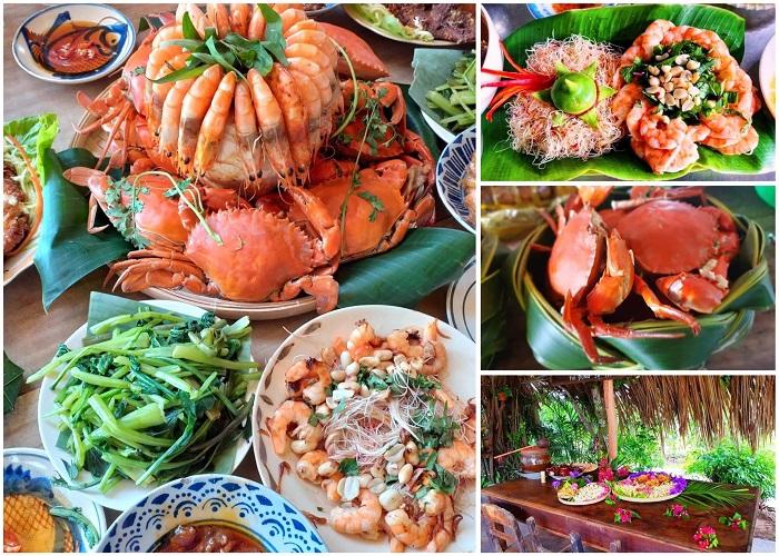 Bữa ăn Nam Bộ đúng chuẩn ở Cồn Chim
