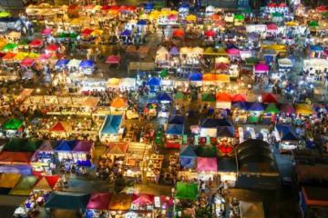 8 khu chợ đêm châu Á khiến du khách quên lối về