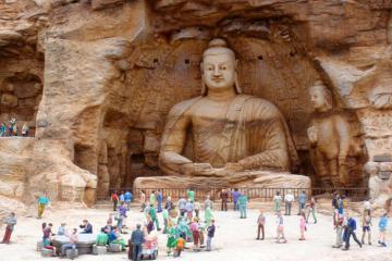 Chiêm ngưỡng động Ngàn Phật - kiệt tác nghìn năm tuổi trên con đường tơ lụa
