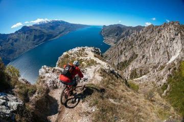 Garda Trentino, thiên đường du lịch Ý mạo hiểm