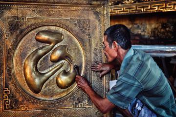 Làng nghề chạm bạc Đồng Xâm 400 năm tuổi ở Thái Bình