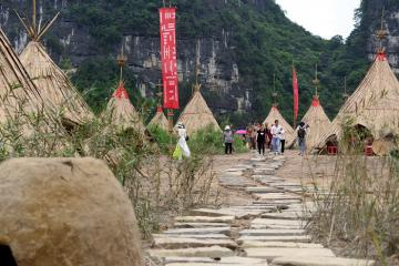 Phim trường 'Kong' ở Tràng An bị tháo dỡ