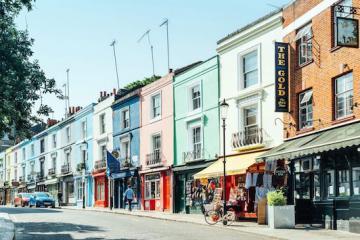 Notting Hill - khu phố thời thượng bậc nhất nước Anh