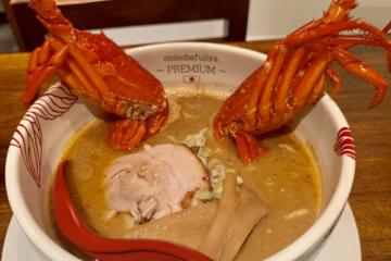 Mỳ tôm hùm sang chảnh giá bình dân 200.000 đồng/bát giữa Nhật Bản