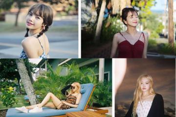 Ngắm ảnh của BLACKPINK ở Hawaii, ai cũng muốn sắm ngay máy ảnh film để đi du lịch