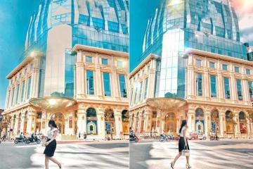 Tòa nhà kim cương giữa thủ đô Hà Nội thu hút giới trẻ check-in
