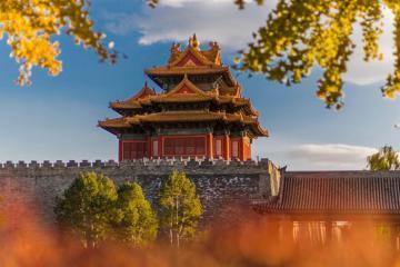Lạc lối giữa thiên đường mùa thu ở Bắc Kinh