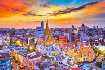Bangkok là thành phố có lượng khách du lịch ghé thăm nhiều nhất thế giới năm 2019