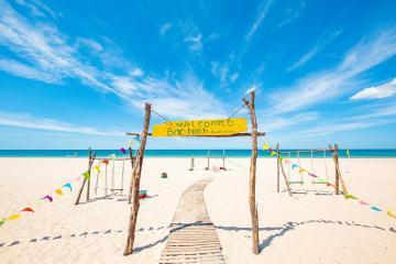 Bán đảo Bảo Ninh - Thiên đường cát trắng ở Quảng Bình