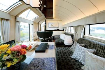 Khám phá cabin hạng sang trên những chuyến tàu của các nước