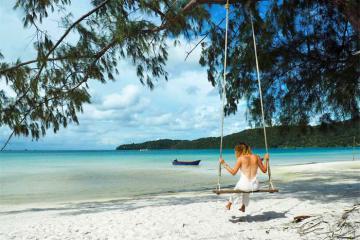 Ăn chơi tới bến tại những hòn đảo nổi tiếng Campuchia