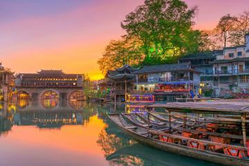Đến Trung Quốc, khám phá những trấn cổ đẹp như trong phim