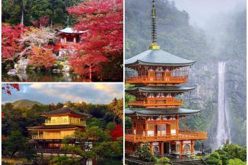 Những ngôi chùa đẹp nhất Nhật Bản khung cảnh tựa tranh vẽ