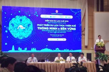Diễn đàn Du lịch Huế 2019: Phát triển du lịch Thừa Thiên Huế thông minh và bền vững