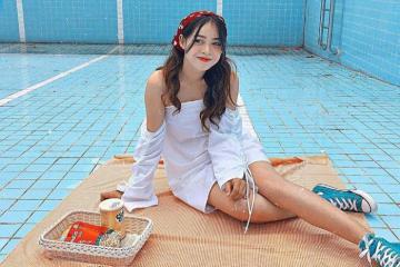 Giới trẻ háo hức check in bể bơi cạn độc đáo khi du lịch Đà Lạt