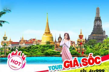 Cơ hội khám phá Thái Lan, thưởng thức buffet 5 sao giá chỉ 4.999.000 VNĐ
